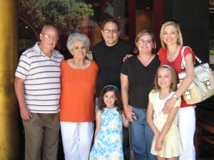 The Behrs and Jones with Leanna, Danielle & Sophie