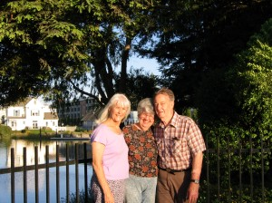 With Donna Pallaske in Petaluma, California